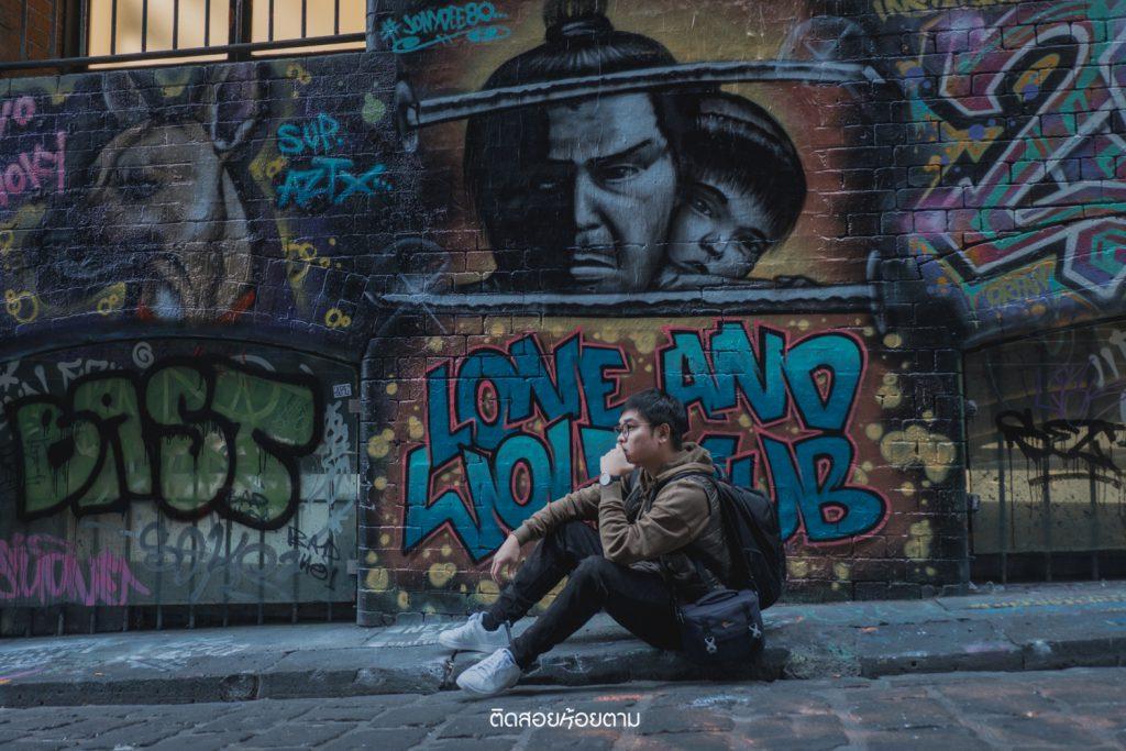 Hosier Lane : Street ART