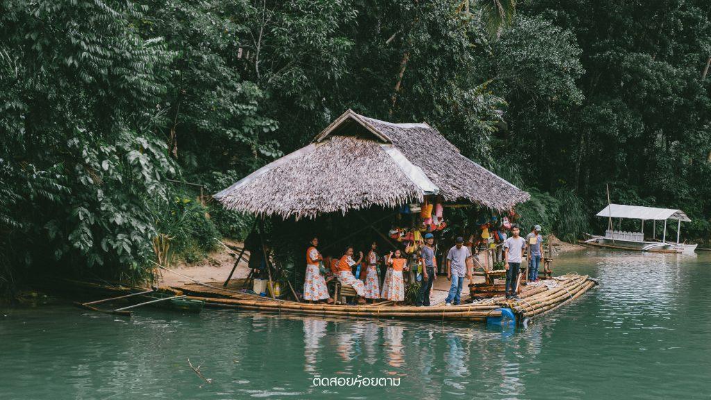Loboc River Floating restaurant